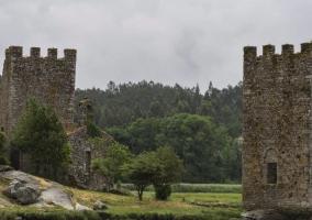 Zona de las torres de Catoira
