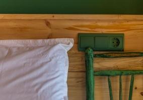 Dormitorio y los detalles