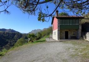 La casa y su fachada