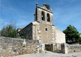 La iglesia de Rades de Abajo