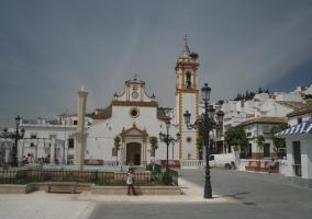 Zona centro de la plaza