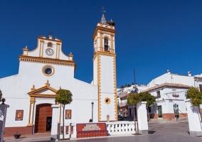 Zona de la iglesia y la plaza