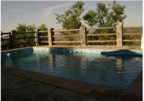 Vistas de la piscina abierta