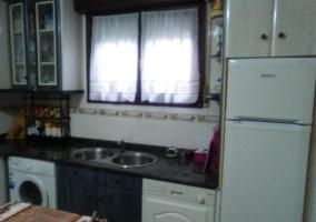 Cocina con ventana