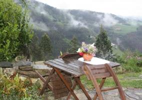 Vistas de los exteriores abiertos al entorno natural