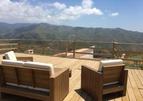 Amplia terraza con las mejores vistas
