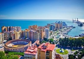 Zona centro de Málaga