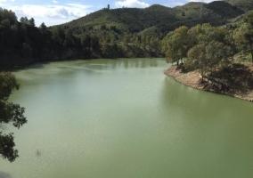 Zona natural del pantano