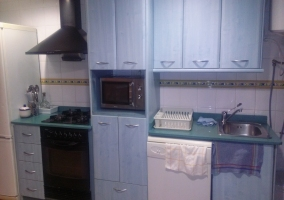 La cocina completa