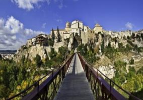 Zona de llegada a Cuenca