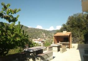 Vistas de la terraza de la casa