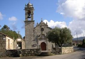 Zonas del patrimonio con la iglesia