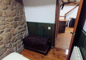 Dormitorio y suelos de madera