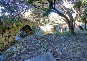 Zona del puente en piedra