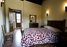 Dormitorio de matrimonio plant