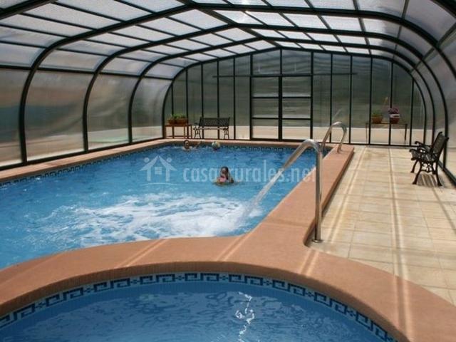 Casas rurales del abuelo i en ferez albacete - Casa rural con piscina cubierta ...