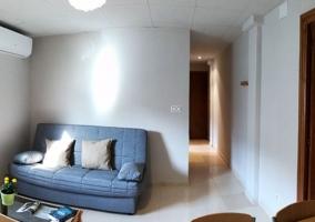 Dormitorio doble con litera