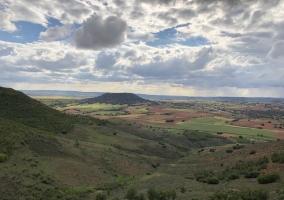 Zona natural y sus paisajes verdes
