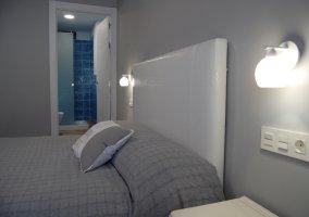 Dormitorio 4 con cama de matrimonio