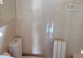 Aseo de la casa con toallero