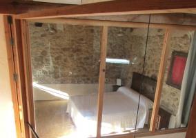 Dormitorio visto desde los pasillos