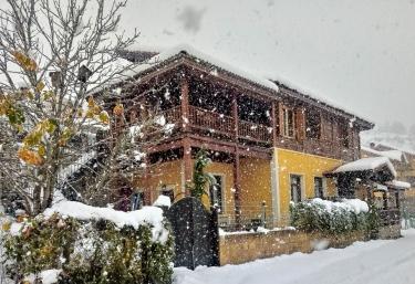 La Casa con nieve