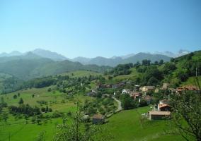 Zonas naturales con espacios verdes