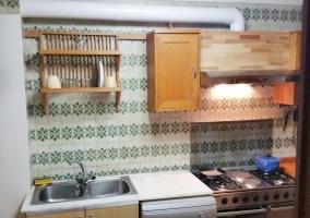 Cocina completa de la casa