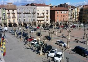 Zona de la plaza del Ayuntamiento