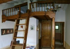 Habitación con doble altura