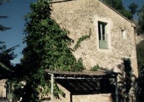 Lateral de la Casa Rural