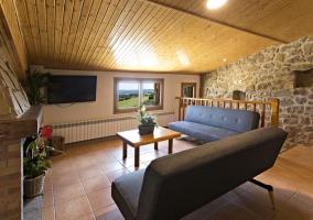 Sala de estar en la planta superior