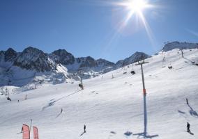 Zonas para disfrutar de deportes de nieve