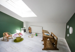 Sala de ocio infantil en la planta superior