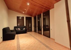 Sala de estar luminosa
