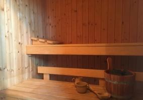 Sauna del alojamiento