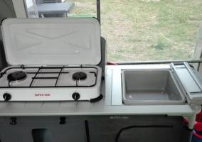Caravana cocina