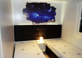 Disney dormitorio doble