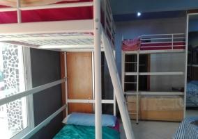 Dormitorio 4 con litera