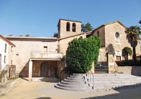Zona del patrimonio en el pueblo