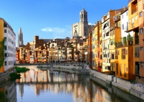 Zona centro de Girona