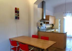 Cocina office junto al comedor