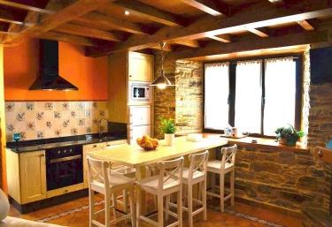 Encanto del Valle y la cocina