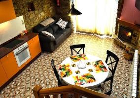 Rincón de Oscos amplio dormitorio con jacuzzi moderno