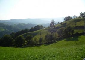Zona de valles en el pueblo