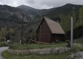 Vistas de la casa vallada