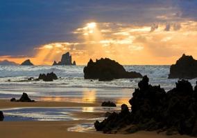 Zonas naturales con las playas