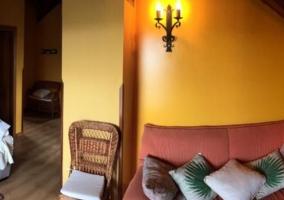Sala de estar y luces