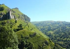 Zonas naturales con paisajes
