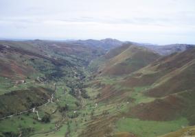 Zonas naturales en el entorno con paisajes verdes